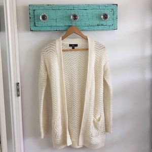 Sweaters - Cream Cardigan